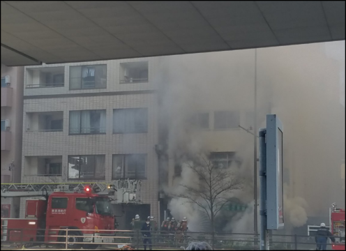 東京 板橋区火災