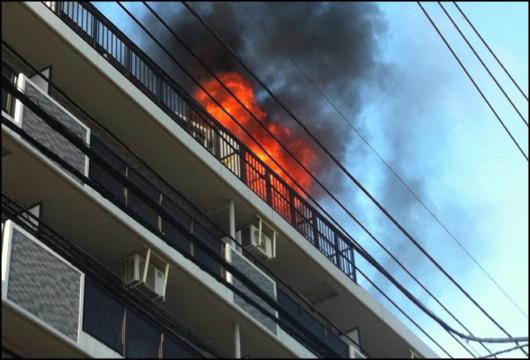 東京都中野区中央火災 火事
