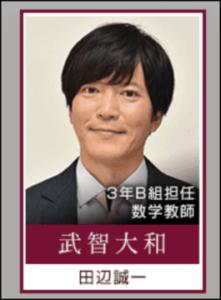 武智先生 3年A組