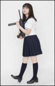 橋本環奈 映画「セーラー服と機関銃」画像
