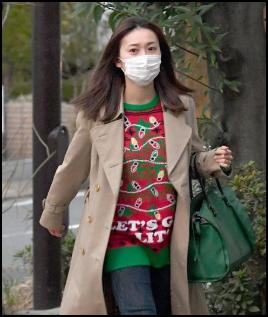 大島優子 私服 セーター ダサい フライデー 画像