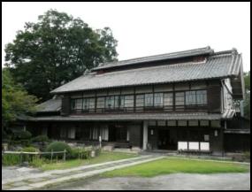 旧渋沢邸「中の家」 渋沢栄一 深谷