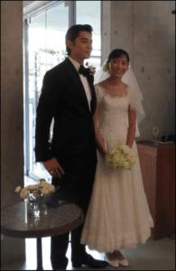 杏と東出昌大の結婚式ウエディングドレス