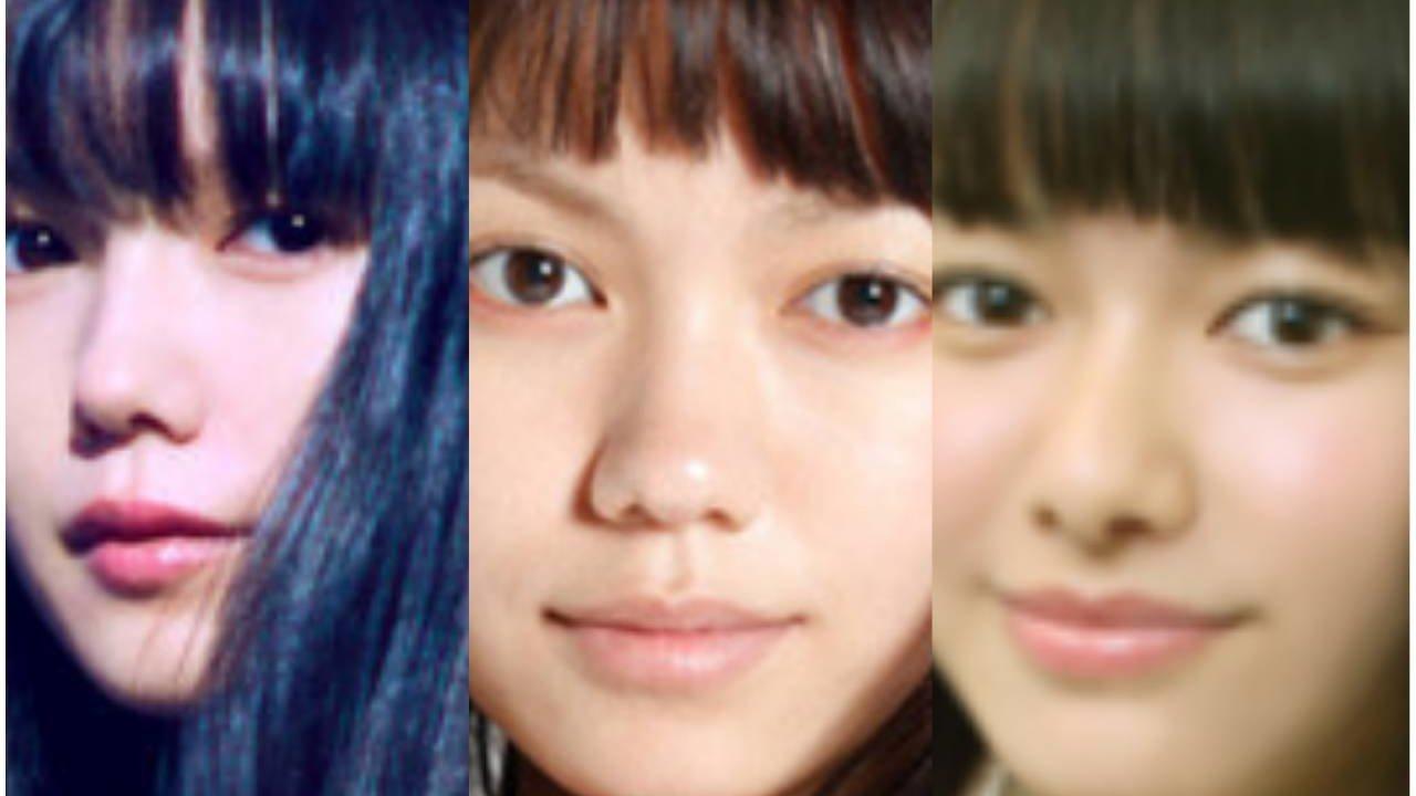 山本舞香 二階堂ふみ 宮崎あおい そっくり 似てる 画像で比較