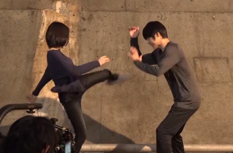 山本舞香 空手 蹴り かっこいい