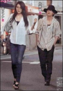 森カンナ 佐藤健 ツーショット写真