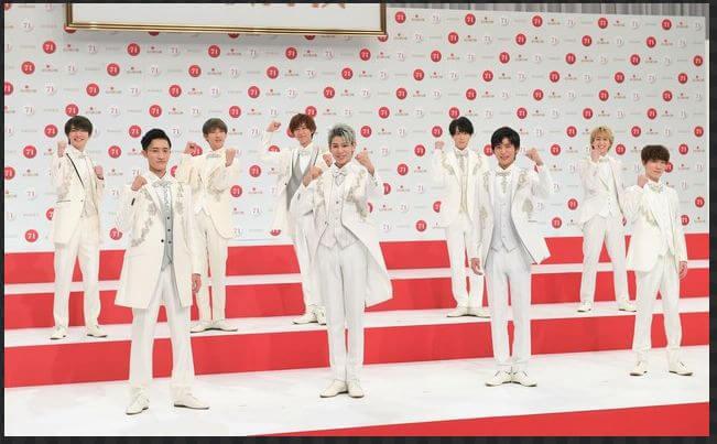 【紅白2020】ジャニーズの出演時間と曲目まとめ!