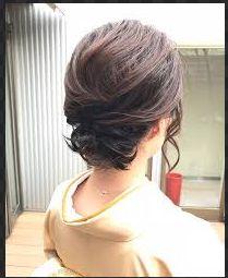 入学式で着物にあう母親の髪型を調査!